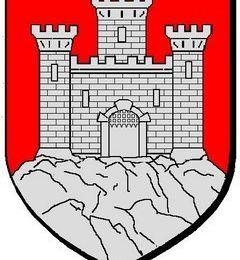 Couillard, Trébuchet, Mangonneau (maquettes au château de Falaise)