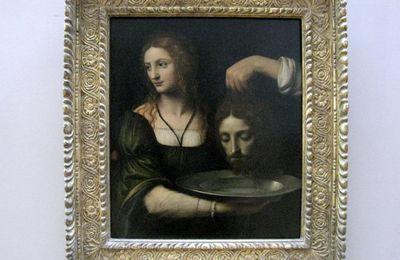 Bernardino Luini, Salomé reçoit la tête de Jean-Baptiste