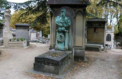 Emmanuel Félix de Wimpffen, cimetière du Père Lachaise