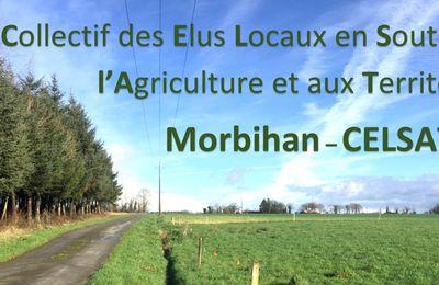 [Crise agricole - élus locaux ] APPEL du CELSAT 56 collectif d'élus locaux en soutien à l'agriculture et aux territoires Morbihan