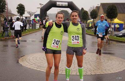 10 km de Guénin (56), course verte, le 12/02/2017
