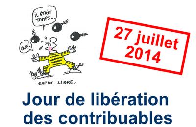 Cette année, les Français travaillent en moyenne jusqu'au 26 juillet pour payer les dépenses de l'Etat et des collectivités territoriales.