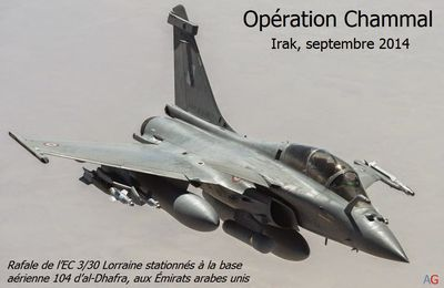 "OPERATION CHAMMAL - Irak/""Daesh"" - Reconnaissance des actions en interne"