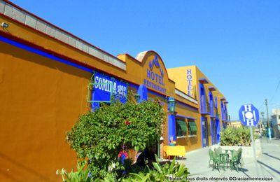 Oaxaca, oro zapoteco : Mitla, hôtel Don Cenobio