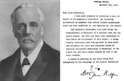 Déclaration Balfour de 1917