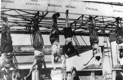 Hace 72 ejecutaban a Benito Mussolini
