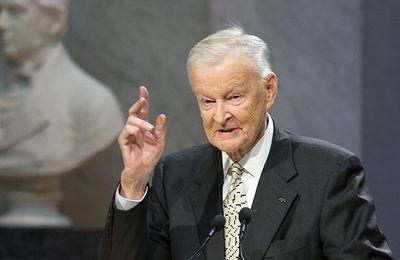 Zbigniew Brzezinski, conseiller à la sécurité nationale des USA pendant la guerre froide, est décédé
