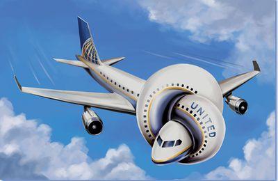4888) Méthode d'enculé, chez United Airlines…