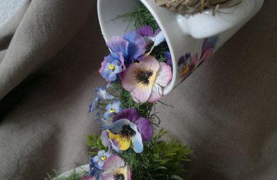Cascadede fleurs.