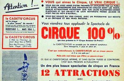 Cadets' Circus, un cirque d'amateurs digne des pro