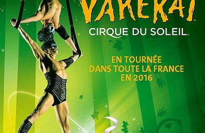 Varekai en France à Montpellier, Nantes, Toulouse, Strasbourg, Paris et Lille.