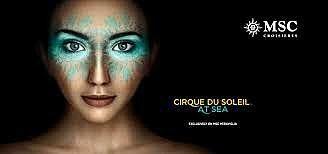 Le Cirque du Soleil en mer