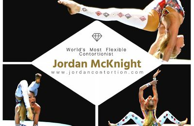 Jordan Mc Knight, une extraordinaire contorsionniste