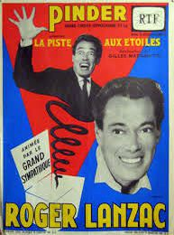 Roger Lanzac s'affiche