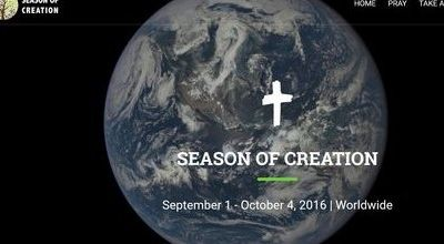 1er Septembre, Journée de prière pour la sauvegarde de la création