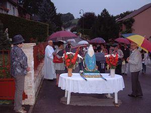 Ranguevaux : Procession de l'Assomption
