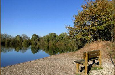 Faire une pause sur un banc...