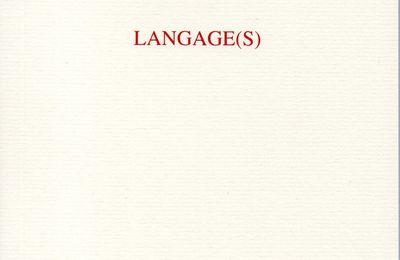 LANGAGE(S) - EXTRAIT
