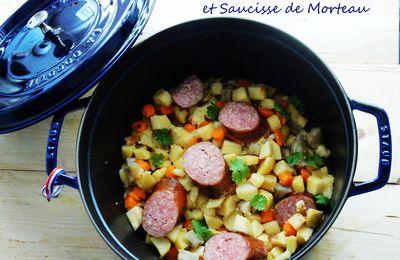 Cocotte de Légumes Anciens et Saucisse de Morteau