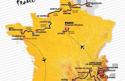 Parcours du Tour de France 2015