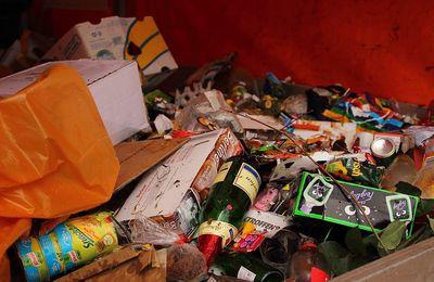 Mobilisation pour le ramassage des déchets en forêt de Fontainebleau