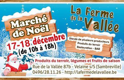 Marché de Noël à Velaine/S/Sambre (Sambreville)
