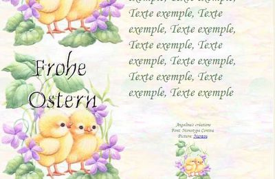 Frohe Ostern b6726262_0 Incredimail & Papier A4 h l & outlook & enveloppe & 2 cartes A5 & signets  frohe_ostern_paques_b6726262_00_marzou