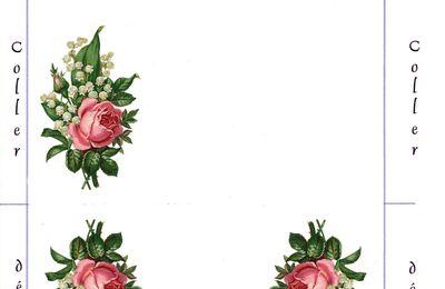 Muguet Rose Enveloppe