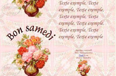 Bon samedi Pivoines Incredimail & outlook & Papier A4 h l & enveloppe & 2 cartes A5 & signets    bon_samedi_peonies05_dhedey_00