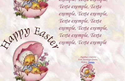 Happy Easter f87aqk05_0 Incredimail & Papier A4 & outlook& enveloppe & 2 cartes A5 & signets  happy_easter_paques_f87aqk05_00_marzou