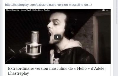 Mon article choisi par la radio LHAST Replay !