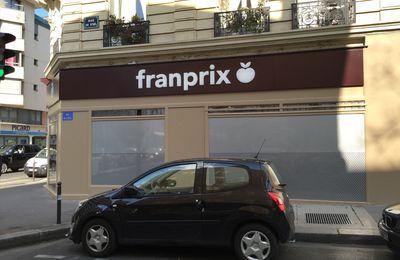 Franprix teste (encore) un nouveau logo.