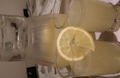 Cherbette, la citronnade du ramadhan
