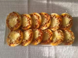 Mini Pizzas thon mozzarella