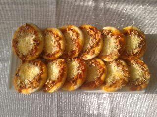 Mini Pizzas thon mozzarella