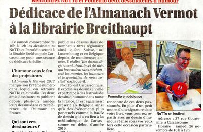 L'Almanach Vermot 2017 !