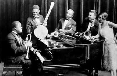 "LOUIS ARMSTRONG & LES ""5 CHAUDS"""