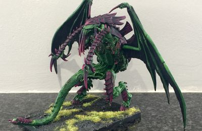 Surprise miniature ! Tyranid Tyranthrope !