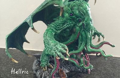 Great Cthulhu - sculpt by Paul Komoda