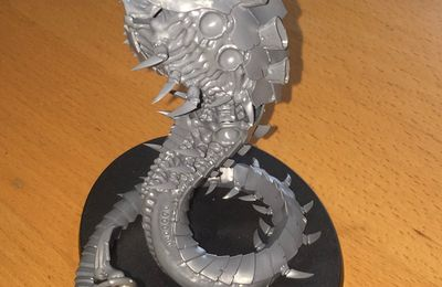 New Tyranid project : huge Flying Tyrant
