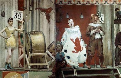 Le Dessous Des Toiles : Grimaces Et Misères, Les Saltimbanques (Fernand Pelez)