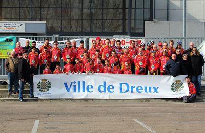 La page des calendriers routes 2017 et des partenaires du Dreux CC mis à jour