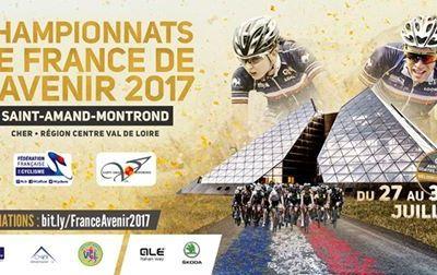 Les championnats de France de l'Avenir du 27 au 30 juillet à St Amand Montrond (18) - avec 638 engagés
