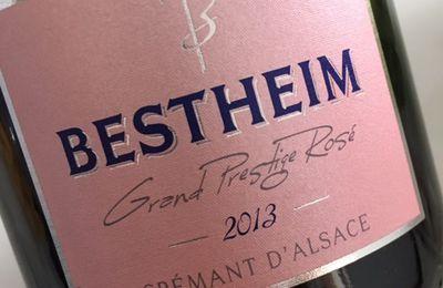 Crémant grand prestige rosé 2013 cave de Bestheim