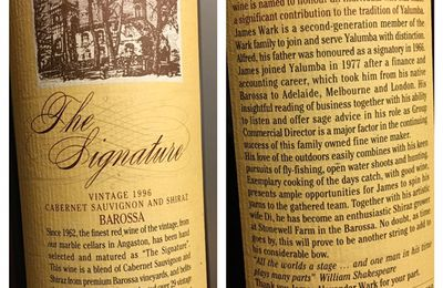 Barossa The signature 1996 Domaine Yalumba