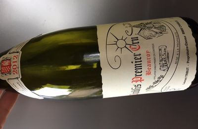 Chablis 1er cru Beauroy 2012 Laurent Tribut