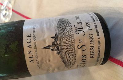Les vins d'Alsace à l'épreuve du temps qui passe.....