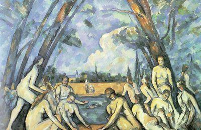 Les Grandes Baigneuses de Paul Cézanne
