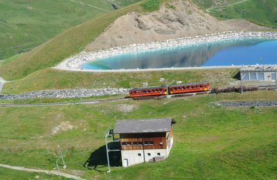 Trains d'altitude en Suisse