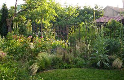 Visite de jardins sur le chemin de St-Jacques-de-Compostelle